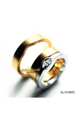 Alianças Diamante Navete AL10-0053