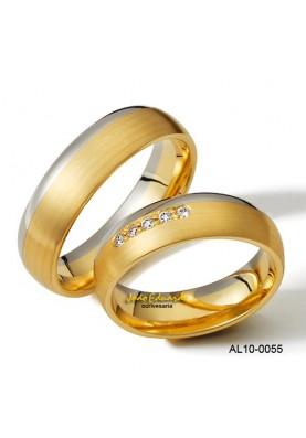 Aliança de Casamento AL10-0055-50