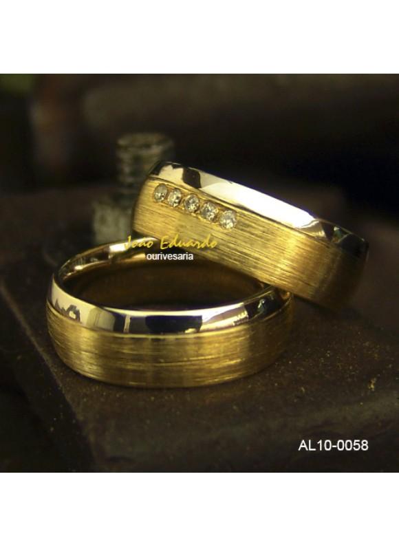 Aliança de Casamento AL10-0055-70