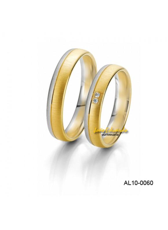 Aliança Bodas de Prata AL10-0060