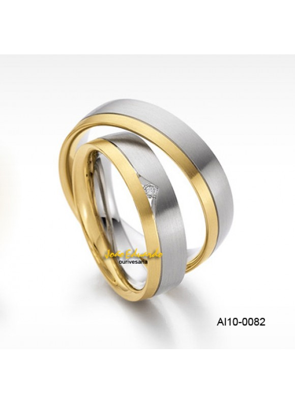 Aliança Branco e Amarelo AL10-0082