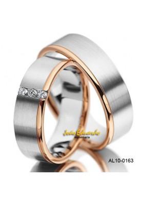 Alianças 3 Brilhantes AL10-0163