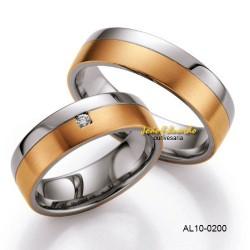 Alianças Duas Cores AL10-0200
