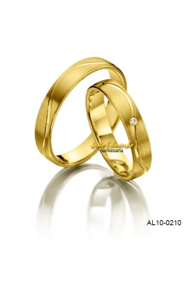 Alianças de Casamento AL10-0210