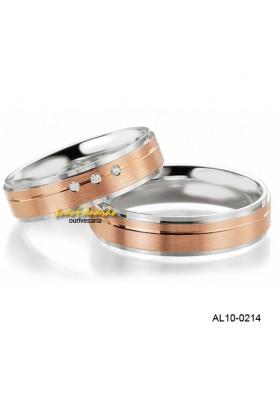 Alianças de Casamento AL10-0214