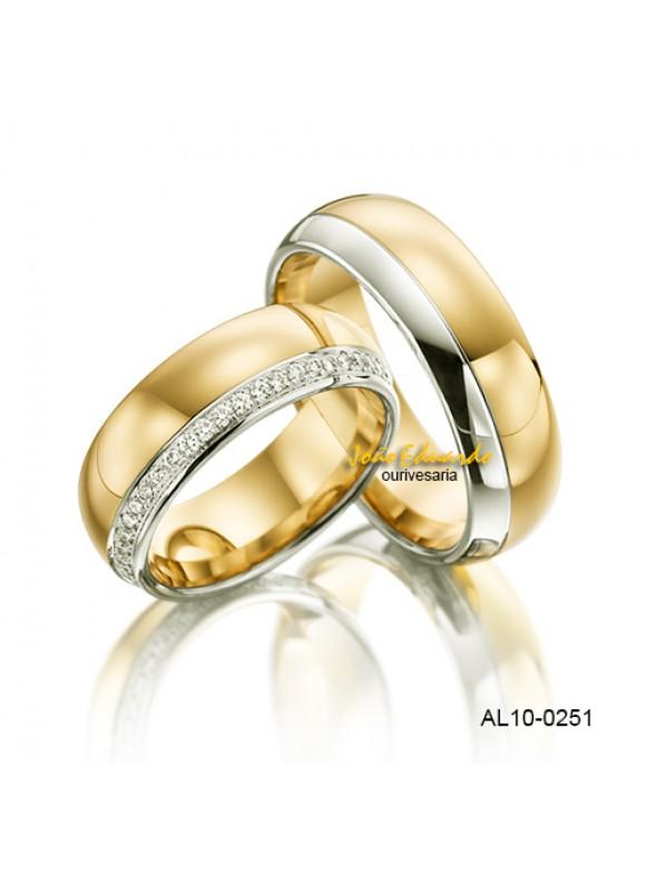 "Aliança ""Clássica""  AL10-0251"